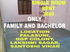 Single Room Available 3500 Near Palasuni,GGP Colony Near Lakshmi Sagar