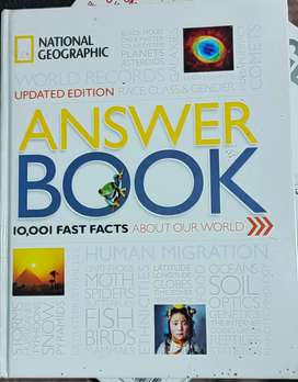 ANSWER BOOK 10,001 FAST FACTS ABOUT OUR WORLD