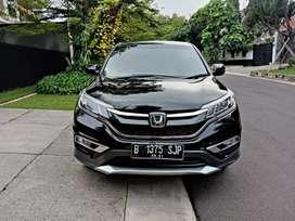 Honda New CRV 2016 AT Hitam Perfect service record CASH KREDIT SAMA