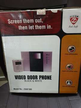 Home security system for main door