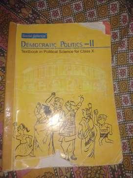Class 10 NCERT Civics Book , Political Science Book