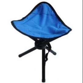 Kursi Lipat Memancing Folding Legged Beach Stool Chair TaffSPORT