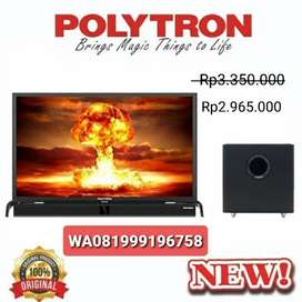 "PROMOO!!! TV LED POLYTRON 39"" + SOUNDBAR"