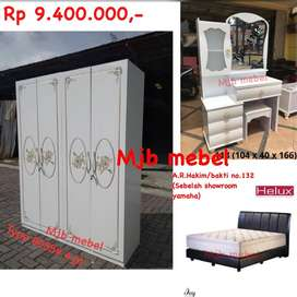 Mjb mebel - promo set hantaran import kilat serba putih high quality
