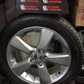 Velg Ban 18 Oem Toyota HARRIER Kondisi 99% Innova alphard rush terios