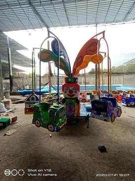 odong odong mini coaster kereta lantai EK komedi putar safari fiber