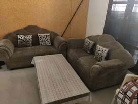 Sofa Set for 4 with Center Table