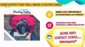 Data entry part time jobs apply now