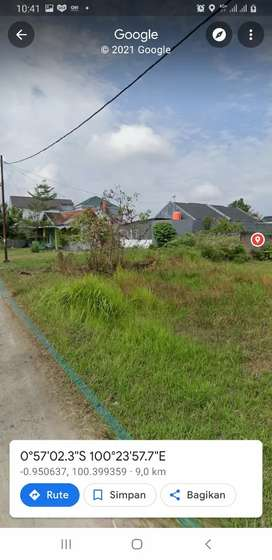 Tanah Termurah Di Cluster Elit Bypass Km7 Kota Padang