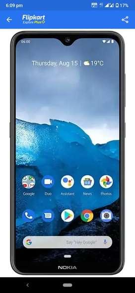 Nokia 6.2 4 gb ram 64 rom  2 month old