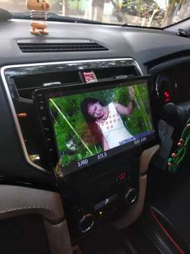 Double Din Android 10in + kamera mundur
