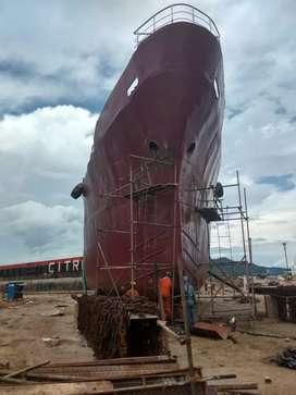 Jual kapal tangker 1200 kL thn 1997 harga murah hub ibu heny via wa