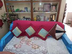 Sofa cum bed and single sofa (3seater+1seater)