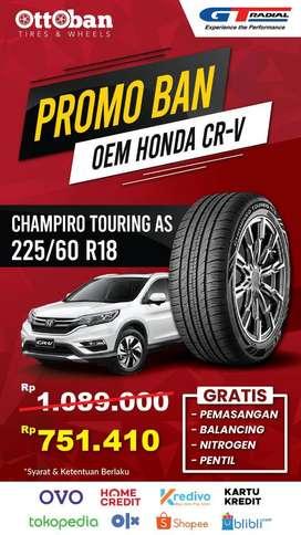 Promo Ban Gt Radial Champiro Touring AS OEM Honda CR-V 225 60 18