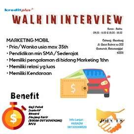 Lowongan kerja Marketing Officer Mobil
