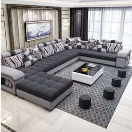 New u shape sofa direct from factory at lowest prices