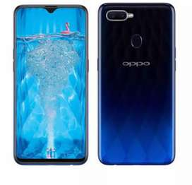 Oppo f9 box packeed