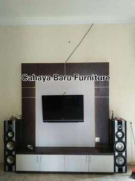 backdrop tv   desain masa kini