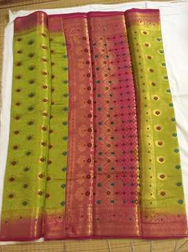 Kanchipuram pattu silk sarees