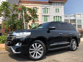 Land Cruiser 4.5 Diesel ATPM 2016 New Model Black On Black Km10rb 3TV