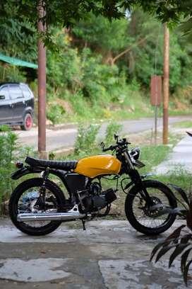 Suzuki a100x bratstyle caferacer