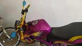 Yamaha vixion modif semi sr