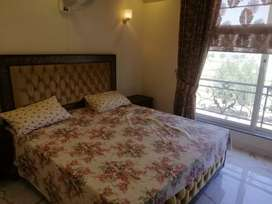 Bahria town Lahore 1 bad fully furnished luxury for family with gas