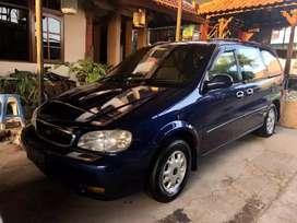 Langka KIA carnival GS diesel / solar th 2001 biru original