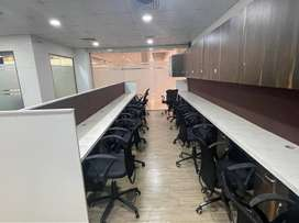 Commercial office on carpet area 1000sqft. and very good locality.