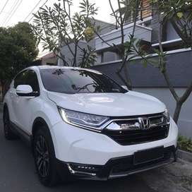 Crv Prestige Turbo 2017 Putih Plat Jateng Km 20 RB450000