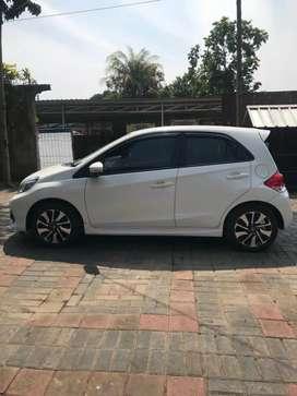 Honda Brio RS Automatic 2018 Putih Nopol D Bandung
