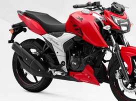 One year old rtr 160 4v perfect condition.