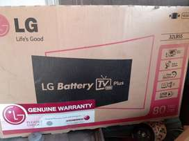 LG LED TV battery operated, 1:30hours battery timing