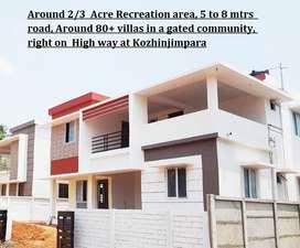 Near Akalya hospital - 4BHK Villas for sale in Palakkad,kozhinjimpara