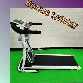 Treadmill elektrik listrik 400W venice fitclass M70