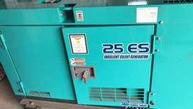 Genset 25 ES ( excellent silent generator )