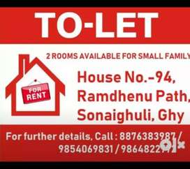 Part of Assam type house for rent at reasonable rate