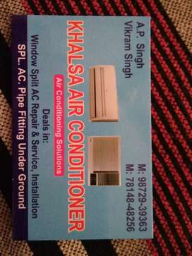 Air conditioner service repair and installation