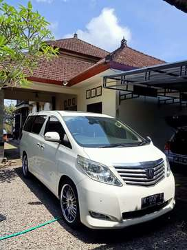 Alphard x 2011 asli Bali