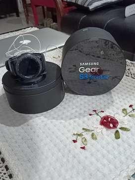 Samsung Gear S3 watch..