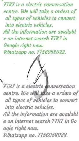 Electric vehicle conversion centre