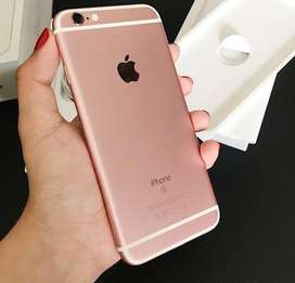 iphone 6s plus 16gb rosegold fullset ori monggo
