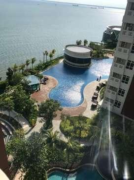 Di Sewa kan Apartment Borneo bay Mewah view pantai dan kota
