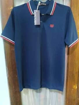Kaos polo kaos kerah polo shirt capetown original new
