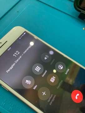 Ganti ic audio iphone 7+ bergaransi