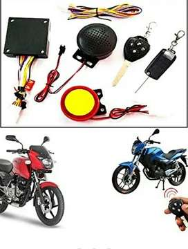 Bike remote controler with voice alert , Anti theft system.