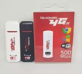 Modem 4G Telkomsel Flash Unlock All Operator Speed Up to 500Mbps