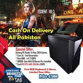 Gaming Pc cash On Delivery All Pakistan All Range Via Dawoo