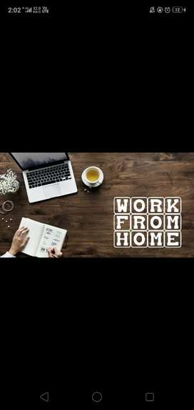 WORK ONLY ON WEEKENDS.. WORK FROM HOME