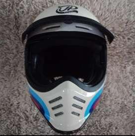 Helm JP Signature Retro  SGN 01 White Cream Glossy